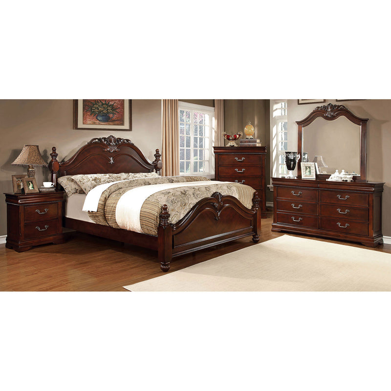 Furniture of America MANDURA QUEEN BED