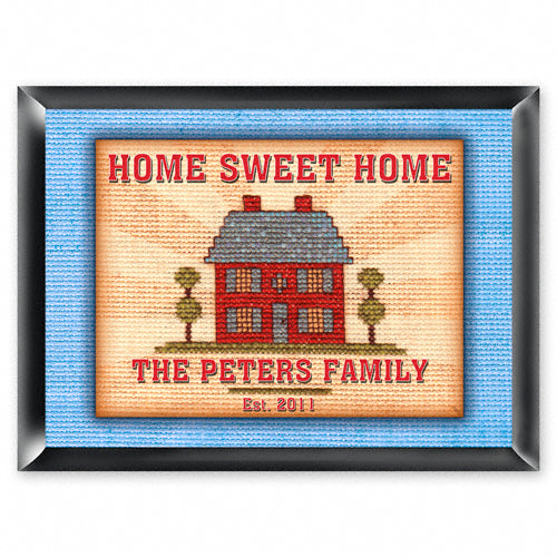 Personalized Traditional Pub Sign - Home Sweet Home