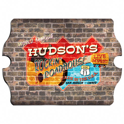 Vintage Series Personalized Sign - Roadhouse