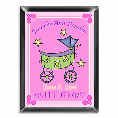 Personalized Room Signs - Carriage Girl