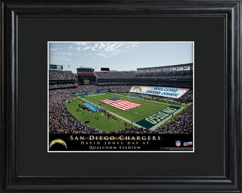 NFL Stadium Print - Chargers