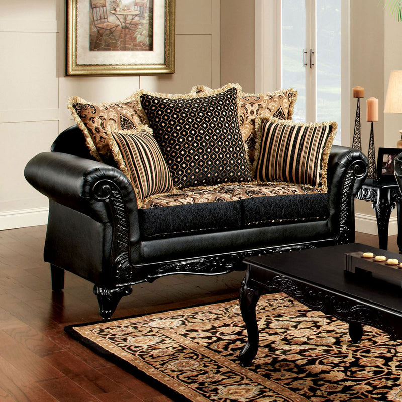 Furniture of America THEODORA LOVE SEAT