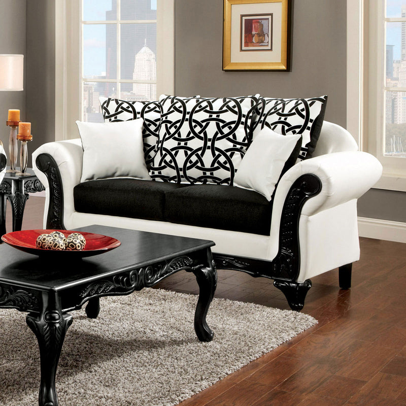 Furniture of America DOLPHY LOVE SEAT