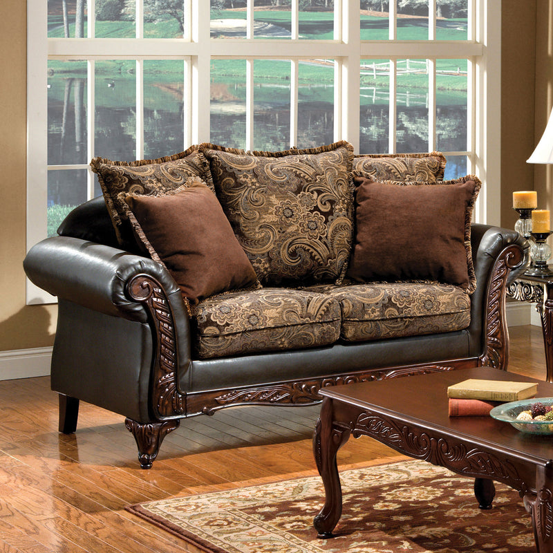 Furniture of America ROTHERHAM LOVE SEAT