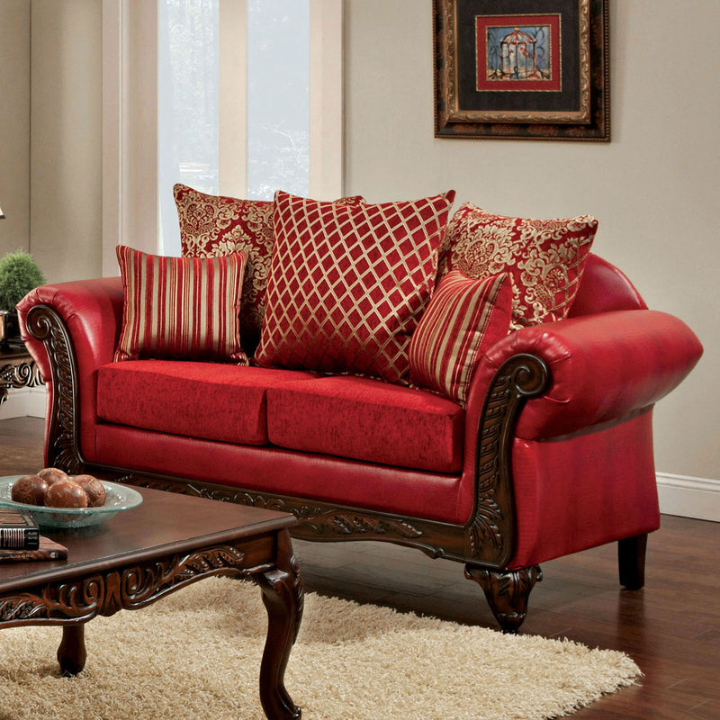 Furniture of America MARCUS LOVE SEAT