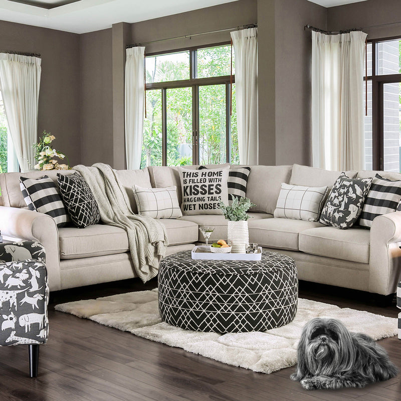 Furniture of America PATRICIA SECTIONAL