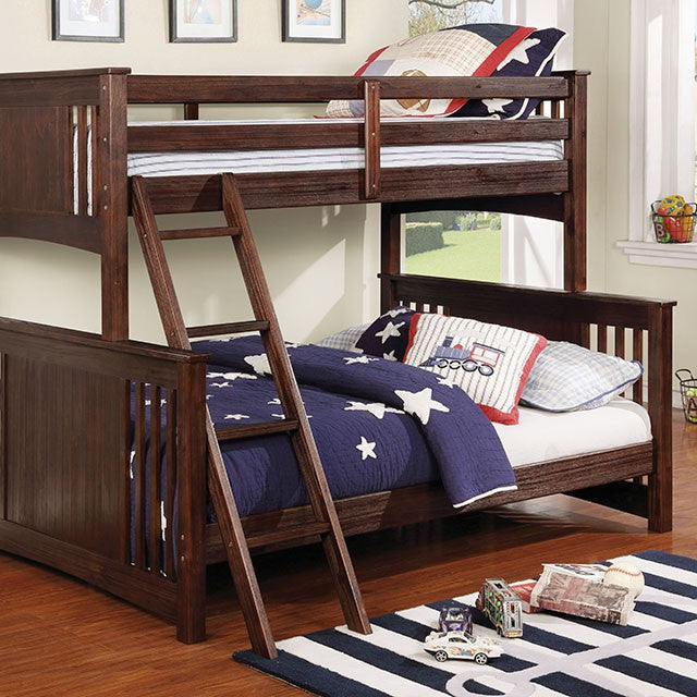 Furniture of America SPRING CREEK TWIN/FULL BUNK BED