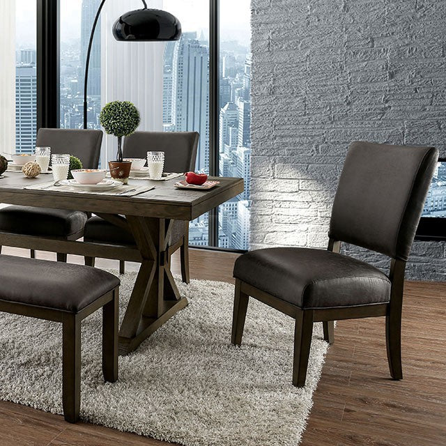 Furniture of America IRVING DINING TABLE     |     CM3348T