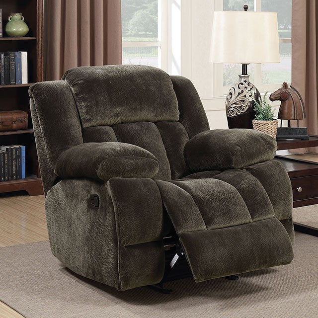 Furniture of America SADHBH GLIDER RECLINER