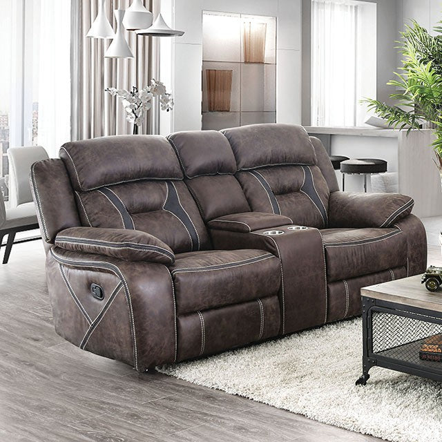 Furniture of America Flint Loveseat
