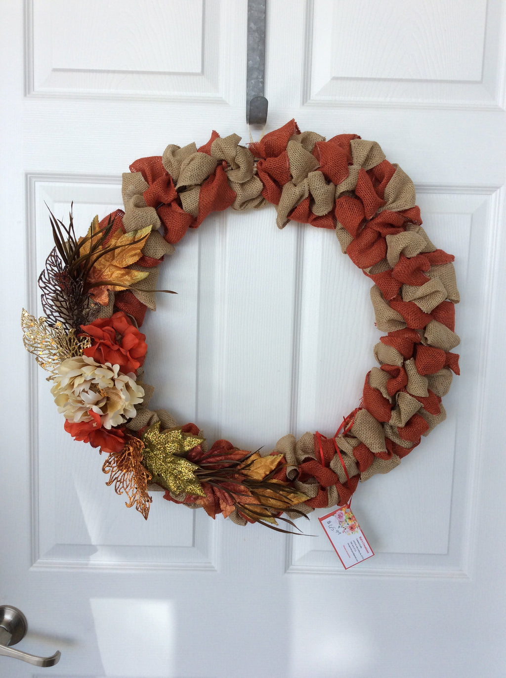 "20"" Custom Fall Wreath"