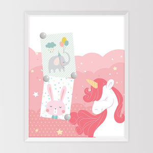 Unicorn magnet board