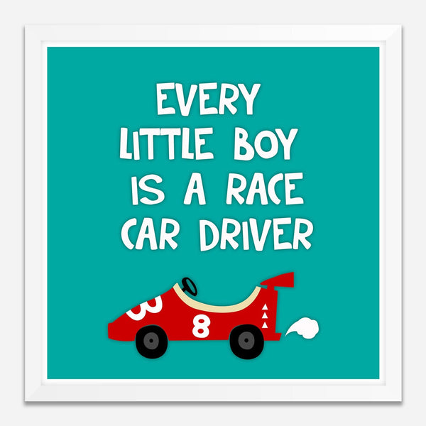 Racer boy -  Wall Art