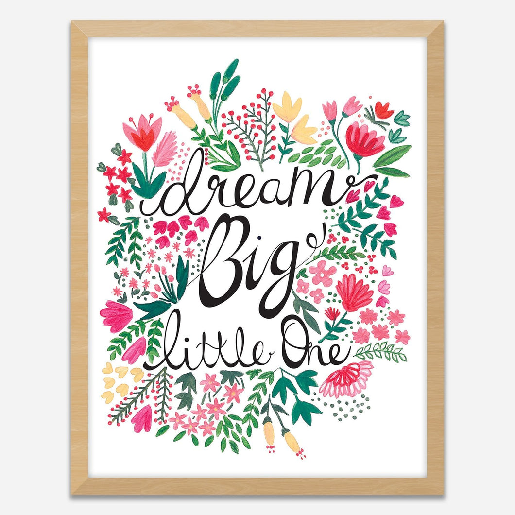 Dream Big - Wall Art