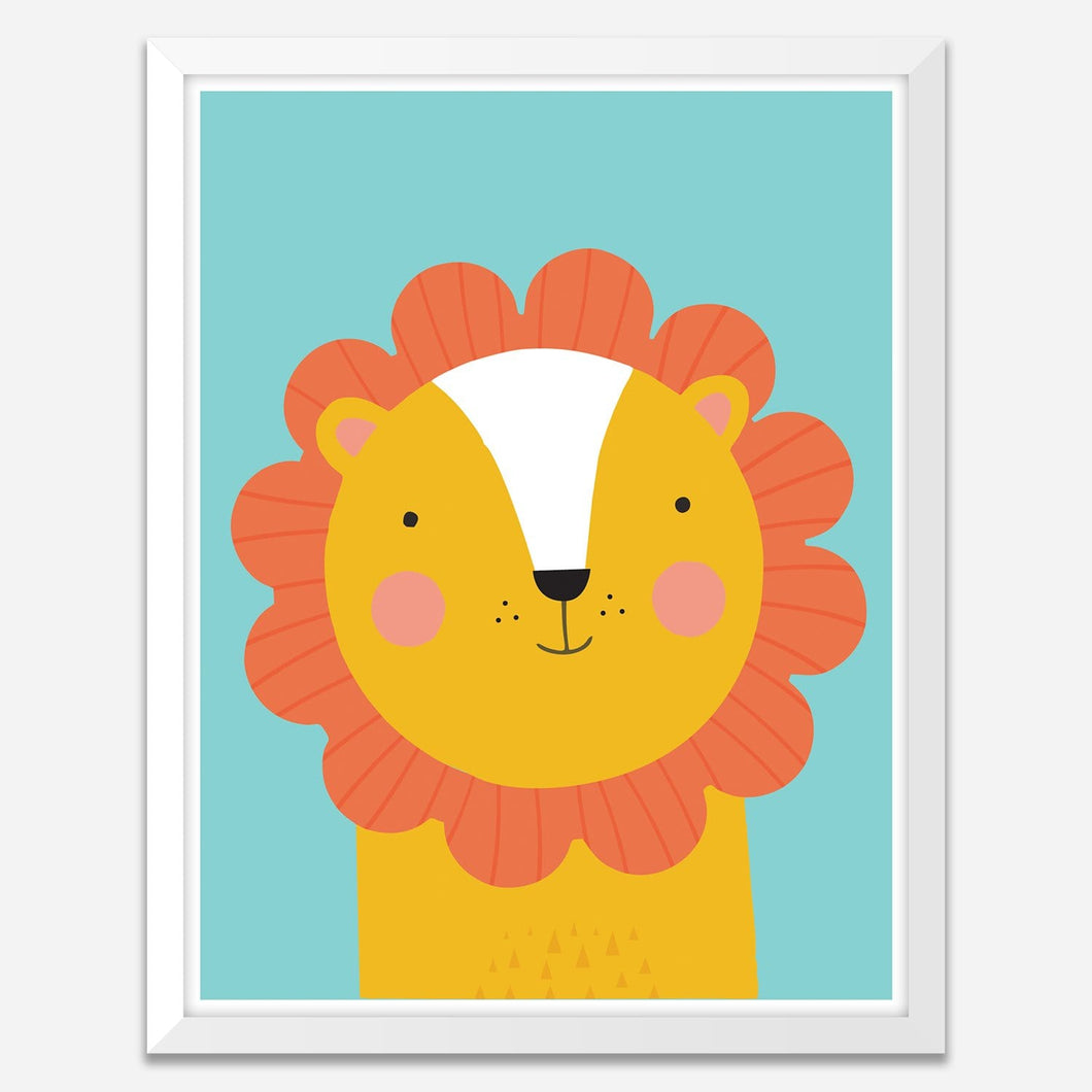 Lion - Framed Wall Art