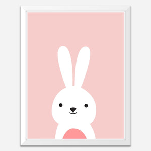 Bunny - Framed Wall Art