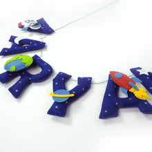 Personalised Space Name Bunting/Garland