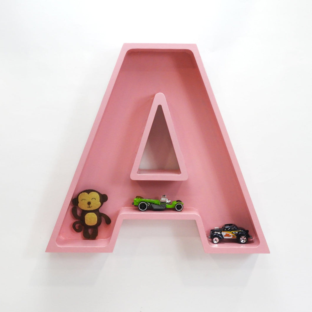 Alphabet Shelf - Pink