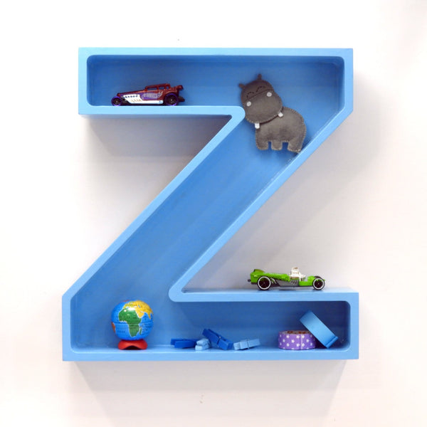 Alphabet Shelf - Blue