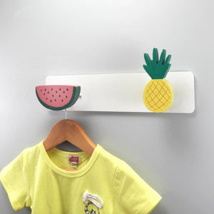 Watermelon and Pineapple Combination Wall Hook