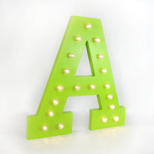 Large Alphabet Marquee Lights