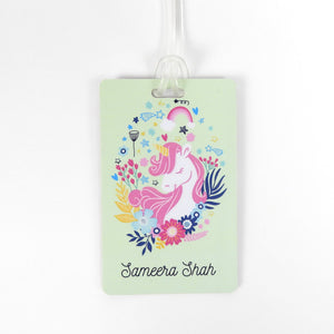 Luggage tags - Unicorn