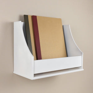 Vintage Book Shelf - White