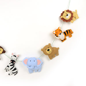 Garland - Wild Jungle Animals