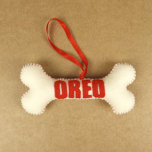 Personalisation Dog Bone - Felt  Ornament