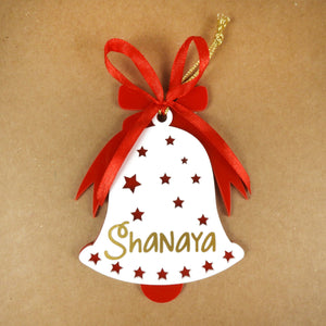 Personalised Bell Christmas Ornament