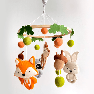 Woodland Animals Cot Mobile