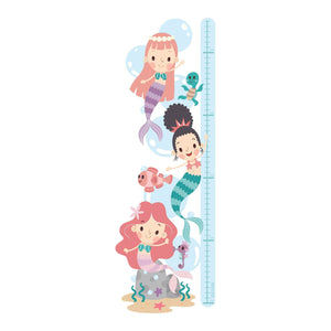 Mermaid - Height Chart Sticker