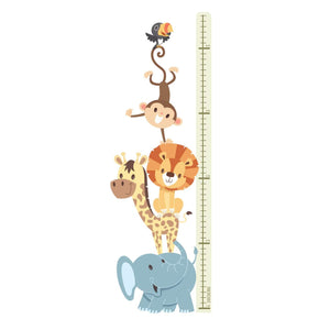 Animals - Height Chart Sticker
