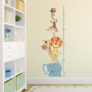 animal-theme-toddler-height-chart-sticker-baby-nursery