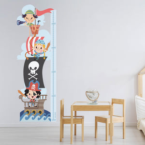 Little Pirates - Height Chart Sticker