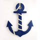 Wooden Anchor Wall Hanging
