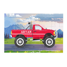 Car Personalised Jigsaw puzzle