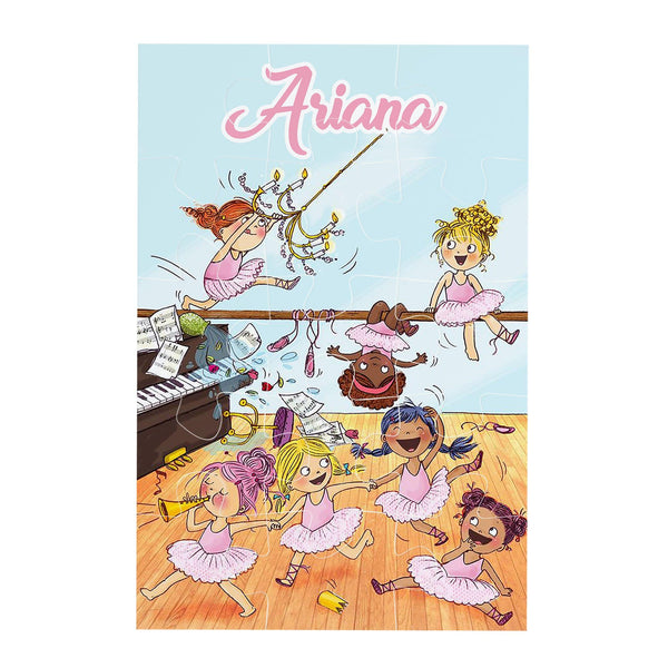 Ballet Class Personalised Jigsaw puzzle