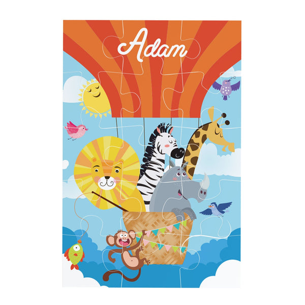 Hot Air Balloon Personalised Jigsaw puzzle