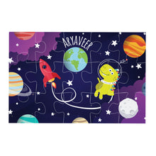 Space theme Personalised Jigsaw puzzle