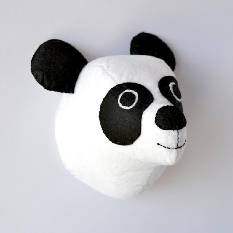 Patrick the Panda - Faux Taxidermy Animal Head