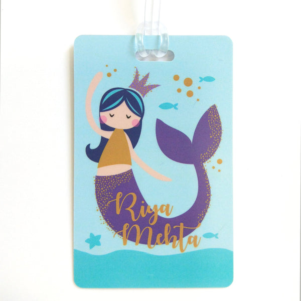 Luggage Tags - Little Mermaid