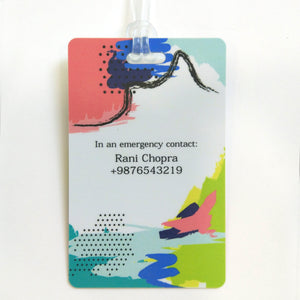 Luggage Tags - Colour Pop
