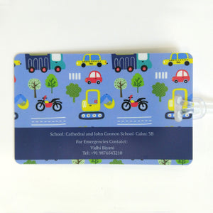 Luggage Tags - City Cars