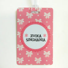 Luggage Tags - Dainty Bows