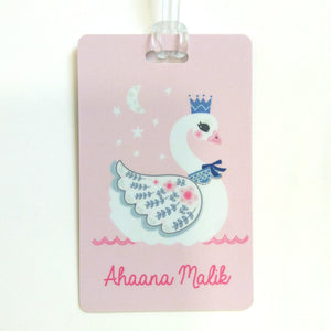 Luggage Tags - Swan