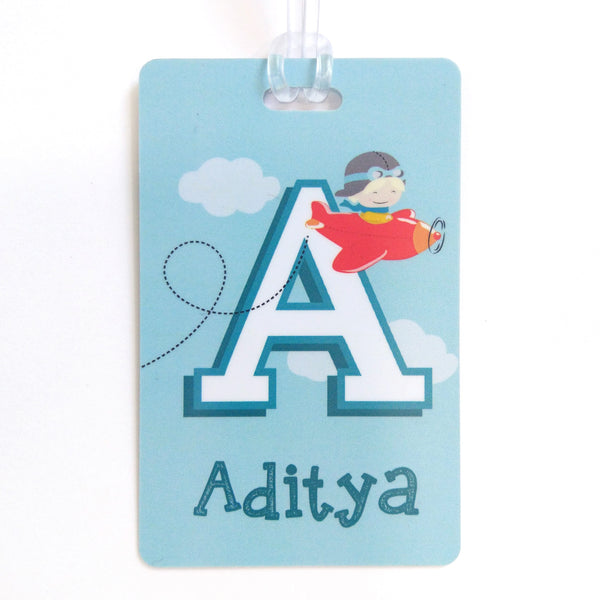 Luggage Tags - Airplane