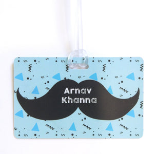 Luggage Tags - Moustache