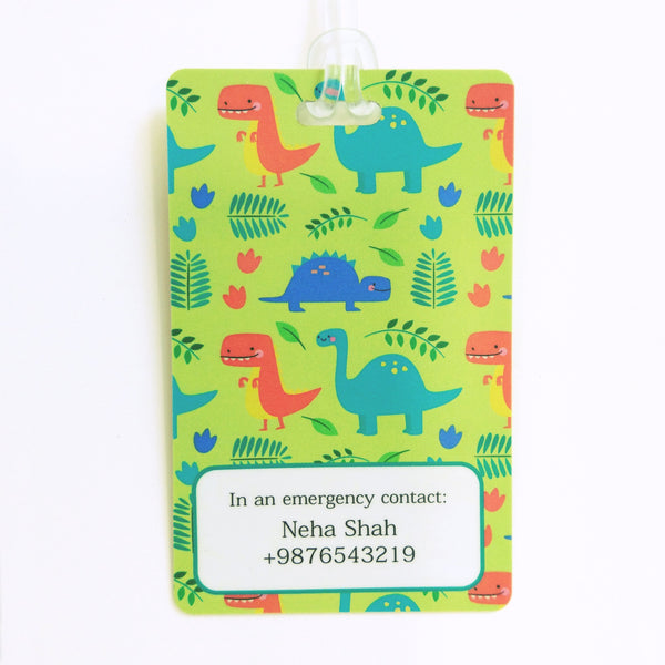 Luggage Tags - Little Dinosaur