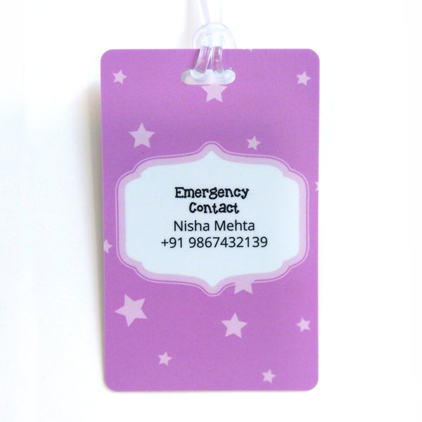 Luggage Tags - Princess Castle